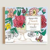 French Baroque Coloring Book