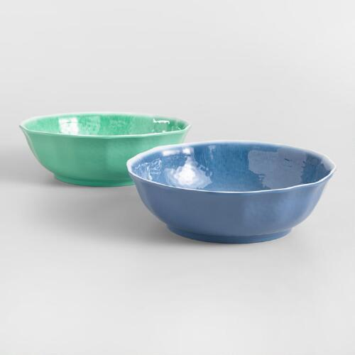 Aegean Melamine Serving Bowl