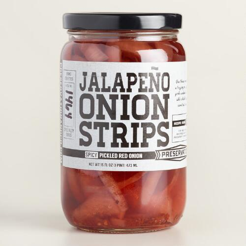 Preservation & Co. Jalapeno Onion Strips