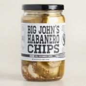Preservation & Co. Big John's Habanero Cucumber Chips
