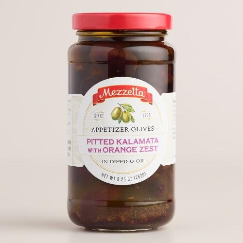 Mezzetta Kalamata Olives with Orange Zest in Dipping Oil