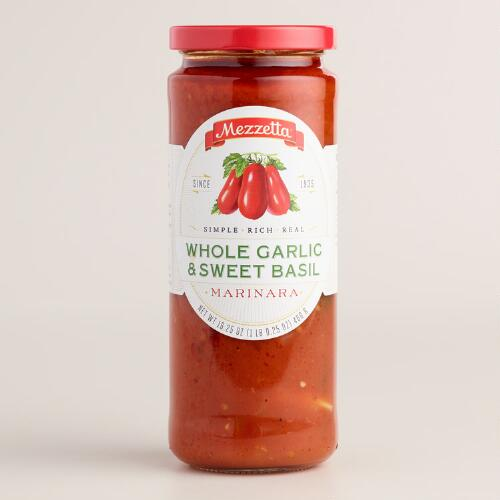 Mezzetta Whole Garlic and Sweet Basil Marinara Sauce