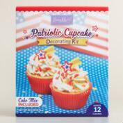 Patriotic Cupcake Decoration Kit