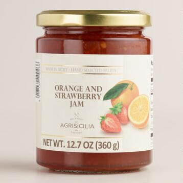 Agrisicilia Orange and Strawberry Marmalade