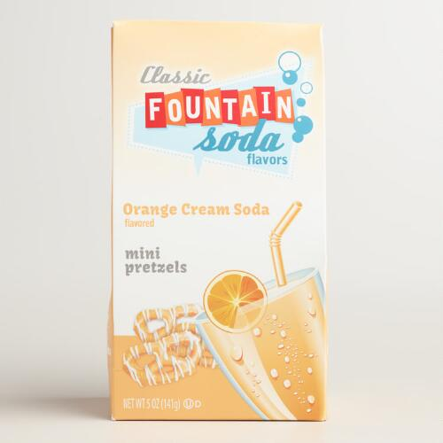 Wolfgang Orange Cream Soda Mini Pretzels