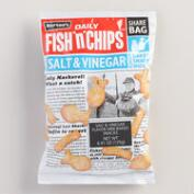 Burton's Salt and Vinegar Fish 'N' Chips Biscuits 5 Pack