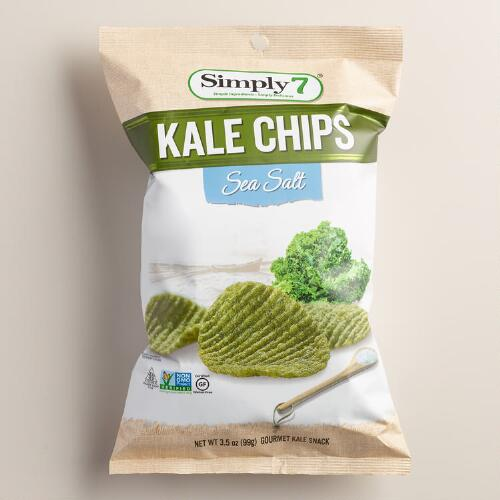 Simply 7 Sea Salt Kale Chips