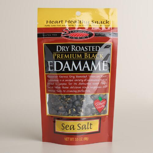 Seapoint Farms Dry Roasted Black Edamame