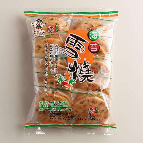 Shelly Senbei Seaweed Rice Crackers