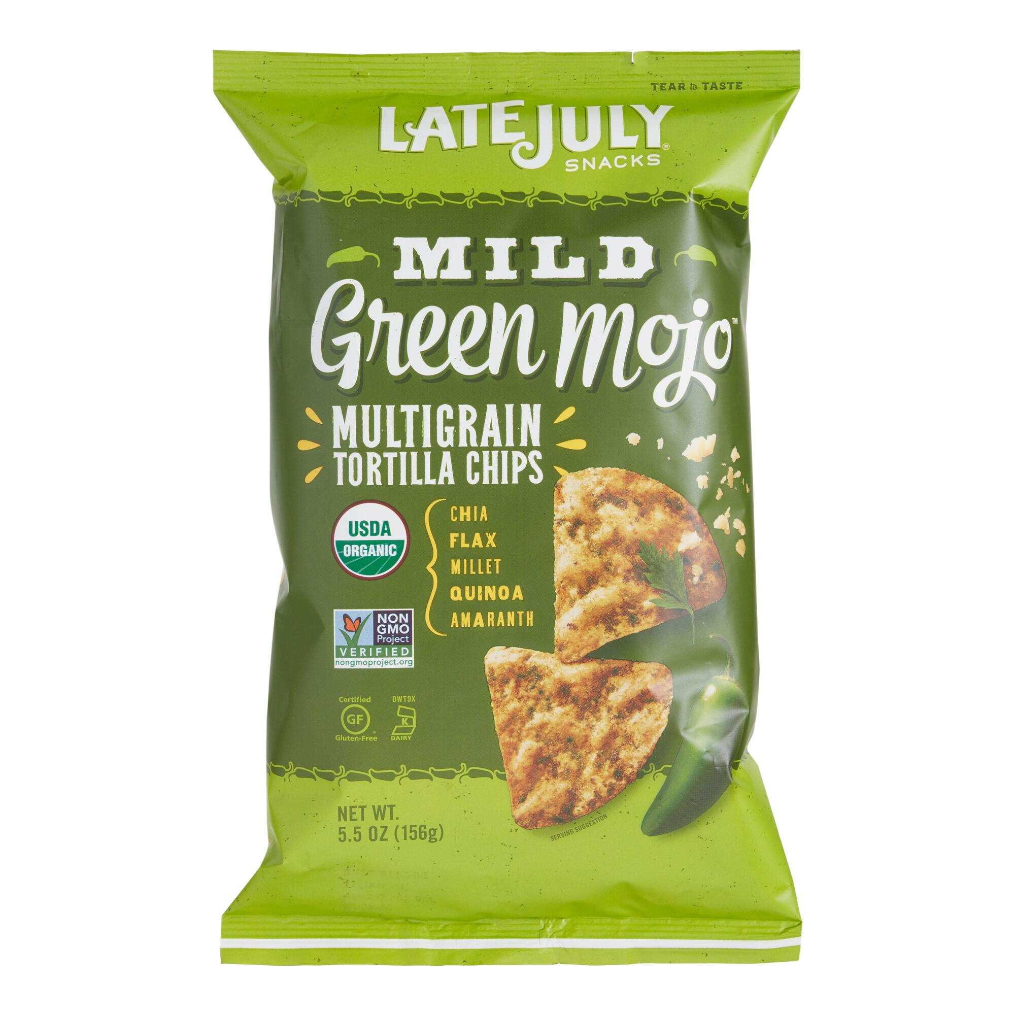 World Market Lately: Late July Organic Mild Green Mojo Multigrain Tortilla