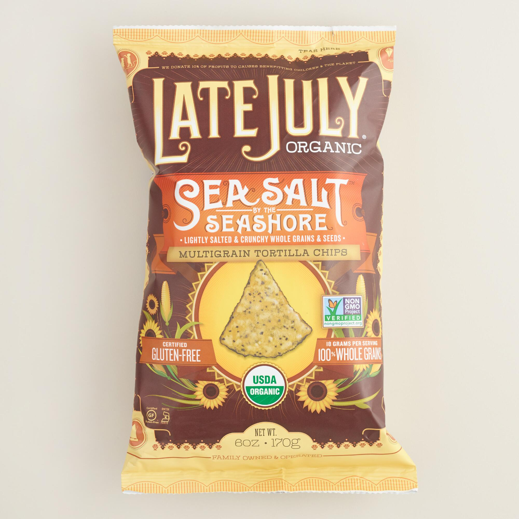 World Market Lately: Late July Organic Sea Salt Multigrain Tortilla Chips