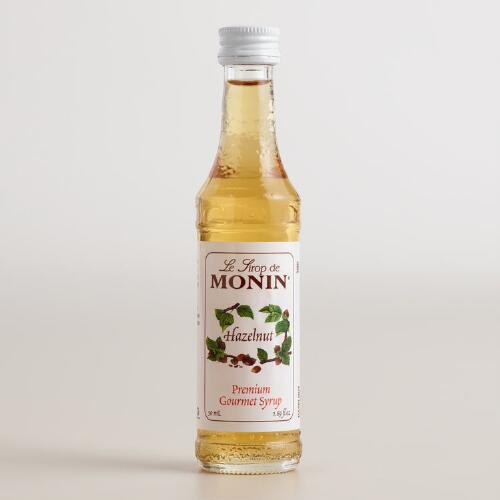 Monin Mini Hazelnut Syrup