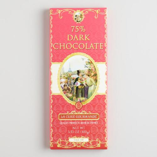 La Cure Gourmande Dark Chocolate Bar