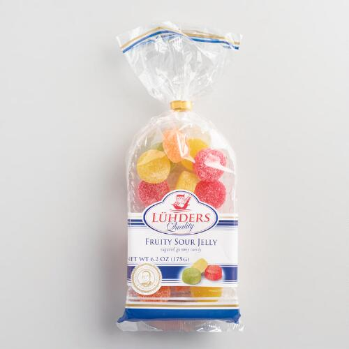 Luehders Sour Fruit Jelly Candy