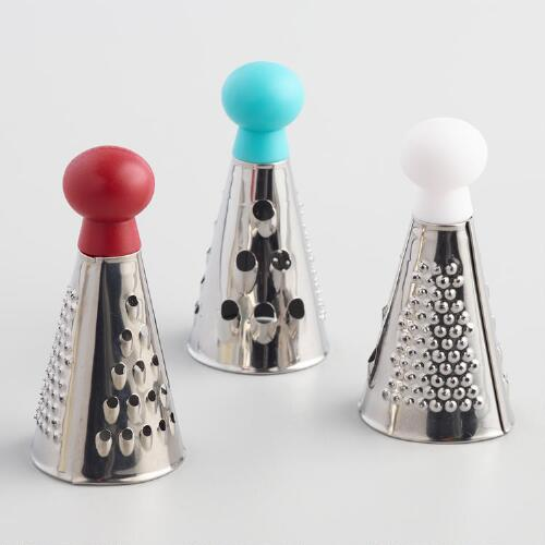 Mini Stainless Steel Graters Set of 3