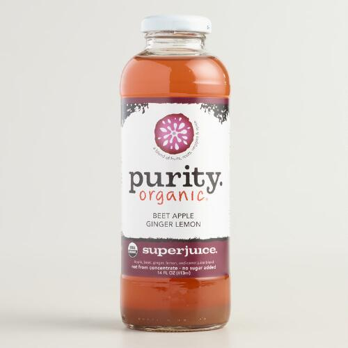 Purity Organic Beet Apple and Ginger Juice