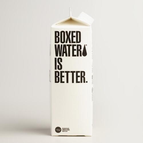 1 Liter Boxed Water is Better