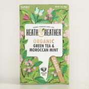 Heath and Heather Mint Green Tea Set of 6