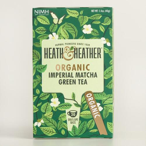 Heath and Heather Matcha Green Tea Set of 6