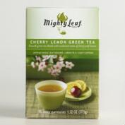 Mighty Tea Leaf Cherry Lemon Green Tea 15 Count