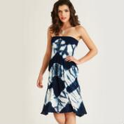 Blue Tie Dye Ananda Skirt Dress