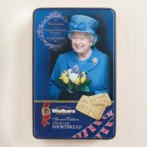Walkers Shortbread Queen Monarch Cookie Tin