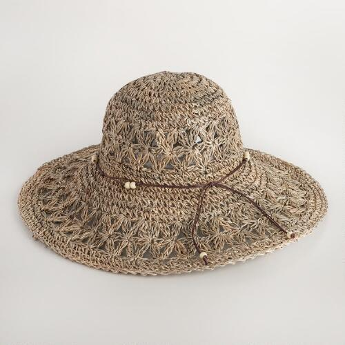 Seagrass Open Weave Sun Hat