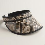 Black Tribal Visor