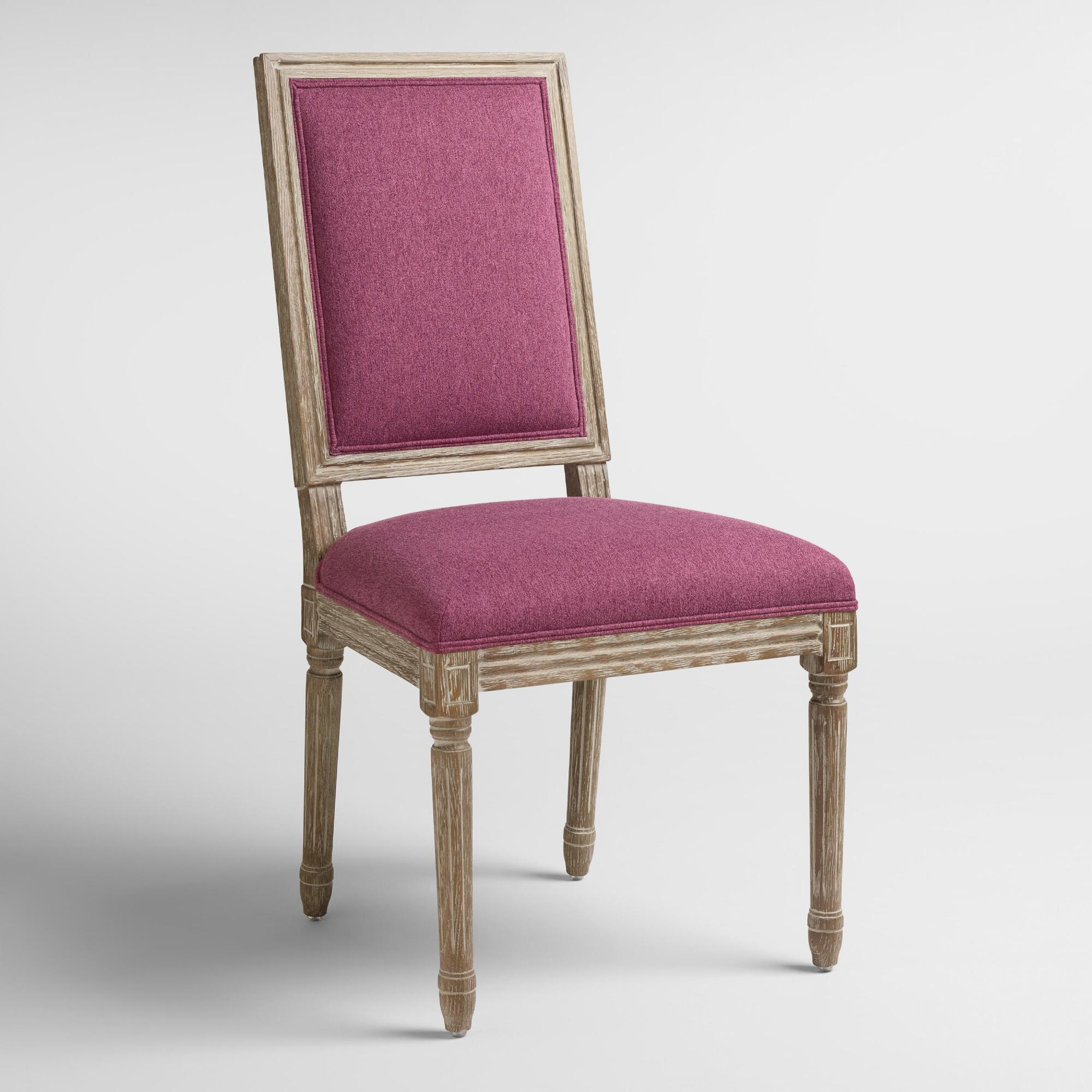 Square Dining Chairs: Raspberry Paige Square Back Dining Chairs Set Of 2