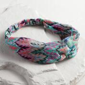 Multicolored Woven Tribal Twist Headband