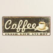 Metal Coffee Sign