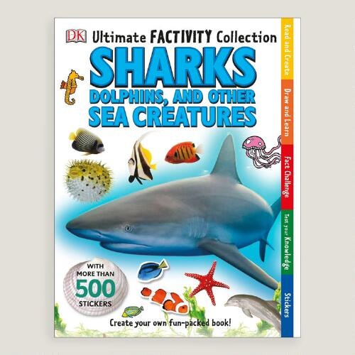Sea Creatures Factivity Book