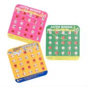 Original Travel Bingo Game Cards Set of 4