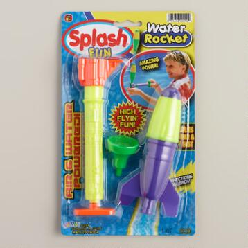 Splash  Water Rocket