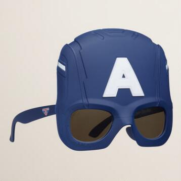 Captain America Sun-Stache Sunglasses