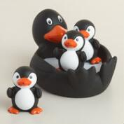 Penguin Family Bath Toy