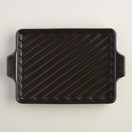 High Heat Ceramic Grill Pan