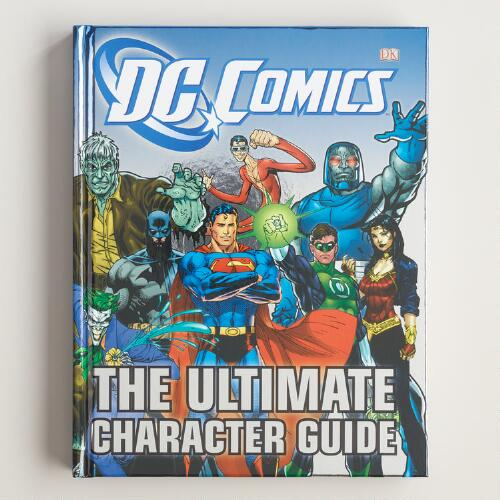 Dc comics the ultimate character guide world market - Dc comics pdf ...