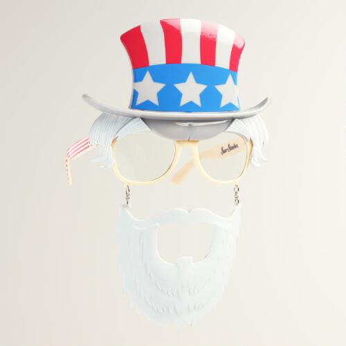 Uncle Sam Sun-Stache Sunglasses