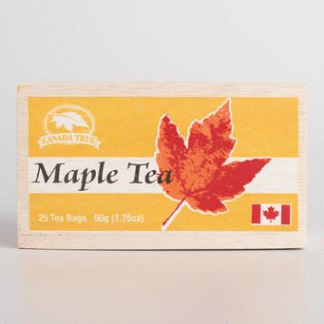 Maple Tea Box 25 Count