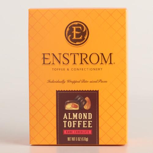Enstrom Dark Chocolate Almond Toffee Box