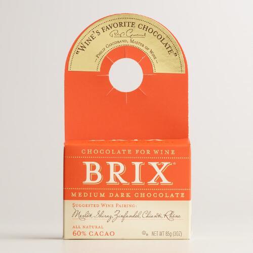 Brix Bites Medium Dark Bottle Topper Chocolates