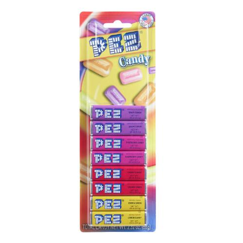 Pez Fruit Refill Candy 8 Pack