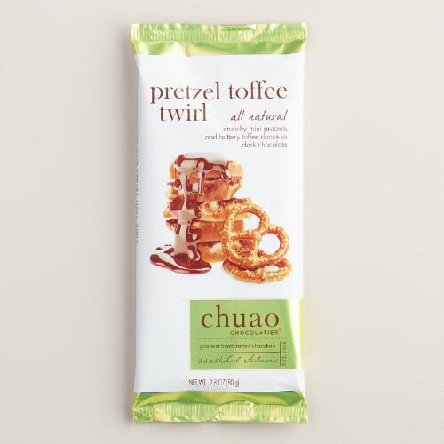 Chuao Pretzel Toffee Twirl Chocolate Bar