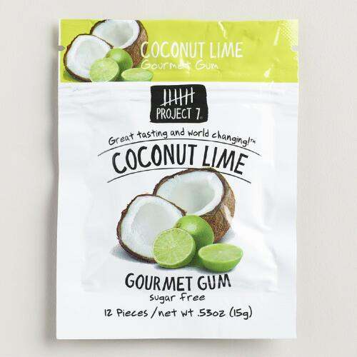 Project 7 Coconut Lime Sugar Free Gum