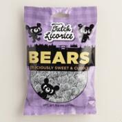 Gustaf's Dutch Licorice Gummy Bears