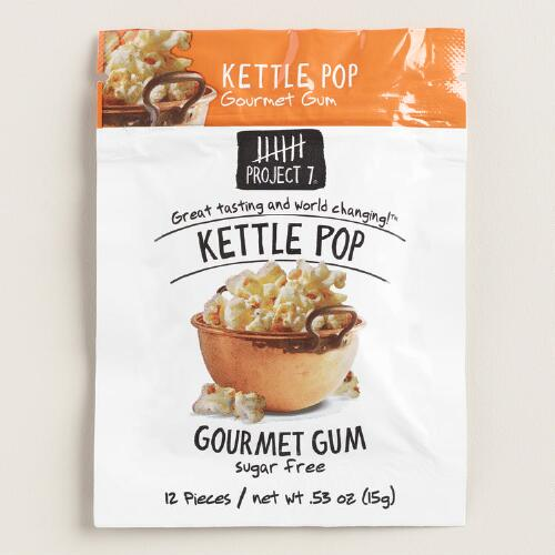 Project 7 Kettle Corn Sugar Free Gum