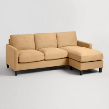 World Market Abbott Textured Woven Sofa