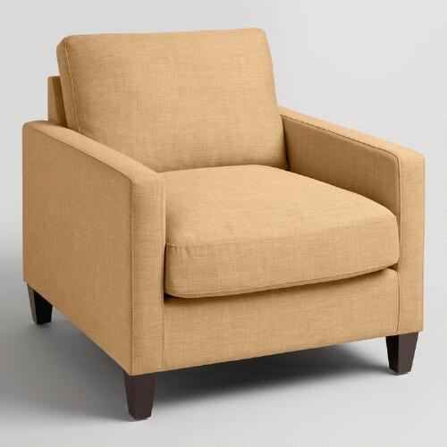 Maize Textured Woven Abbott Chair
