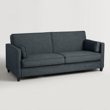 Indigo Blue Nolee Folding Sofa Bed